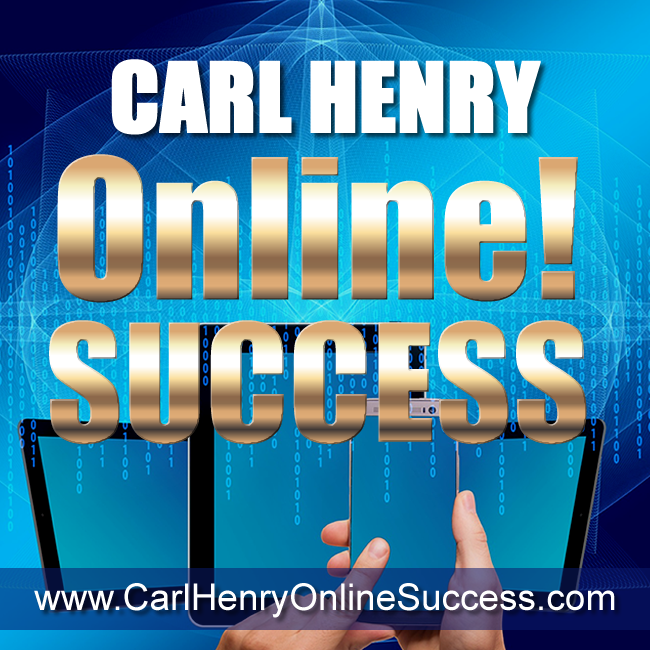 Carl Henry ONLINE! SUCCESS - SIZE: 650px x 650px TYPE: PNG